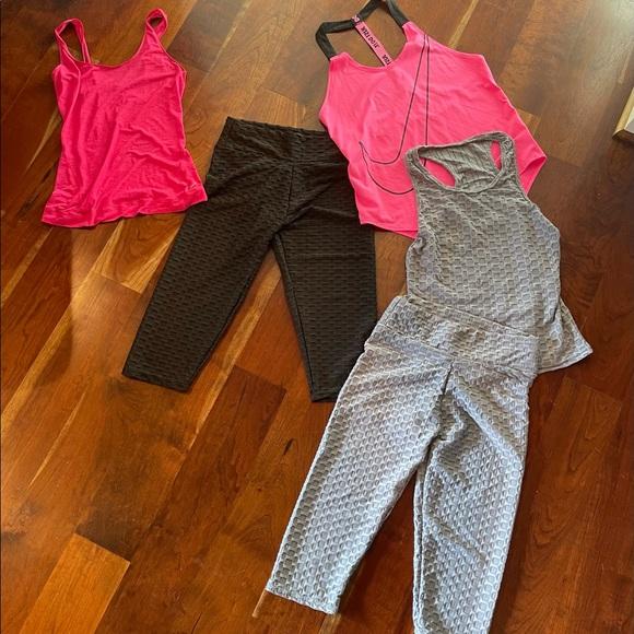 Bundle of 5 piece workout gear
